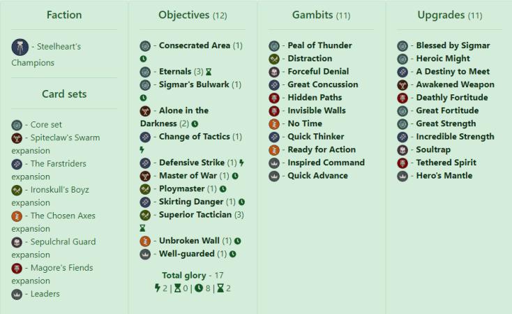 defensive steelhearts