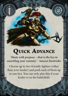 Quick-Advance